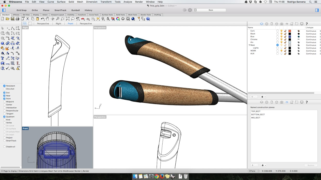 Webinar: Rhino 5 for Mac, Intermediate – Modelling and Rendering of