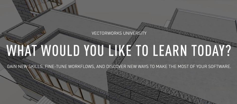 Vectorworks University