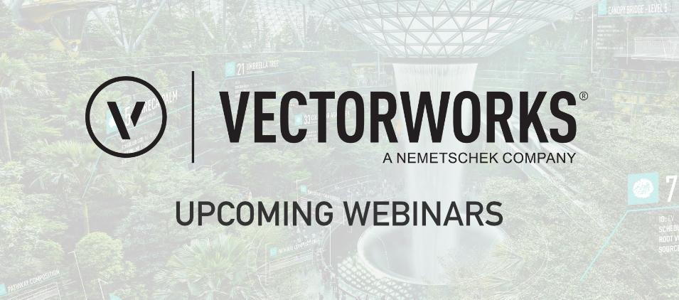 Vectorworks Webinars
