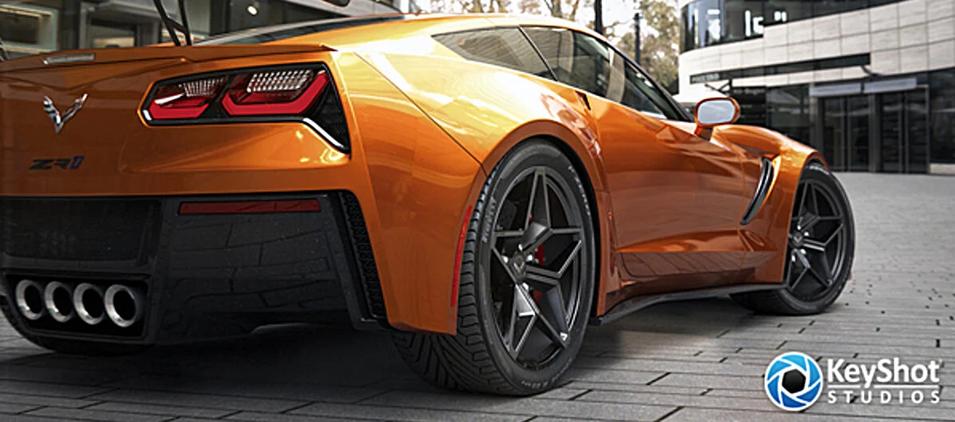 KeyShot Automotive Webinar