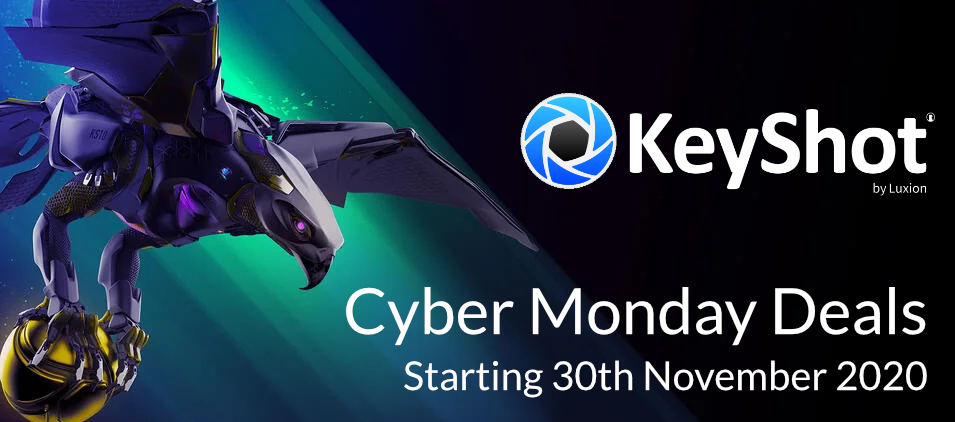 KeyShot Cyber Monday