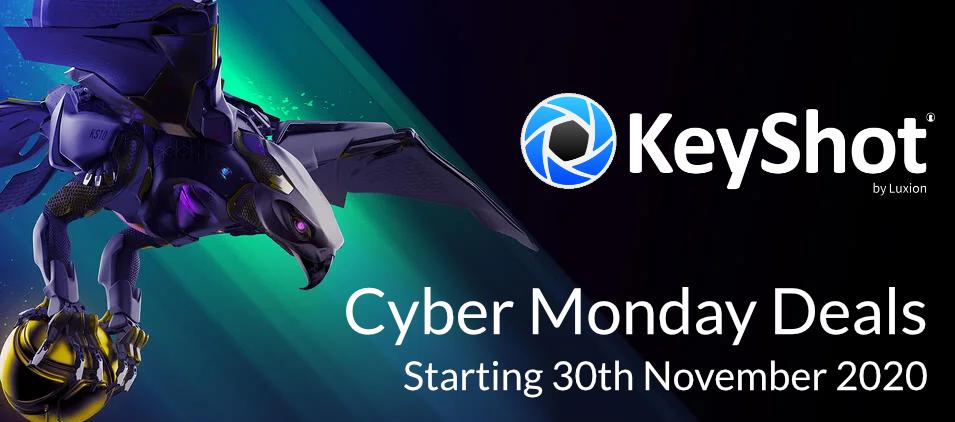 KeyShot Cyber Monday