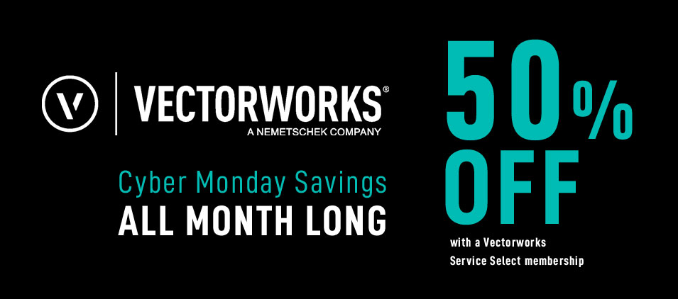 Vectorworks Cyber Monday